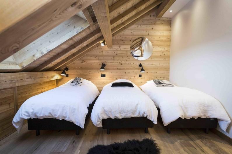 Location de vacances - Chalet à Vars - Dortoir 2 avec 4 lits simple