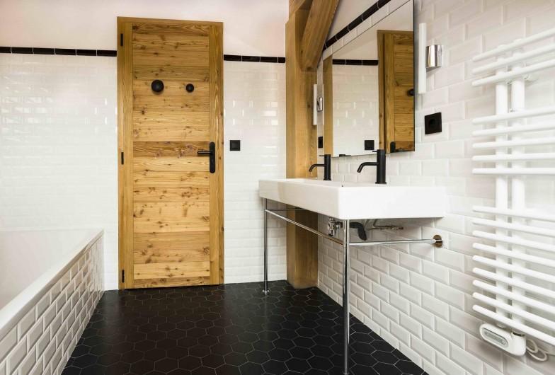 Location de vacances - Chalet à Vars - Salle de bain Dortoir