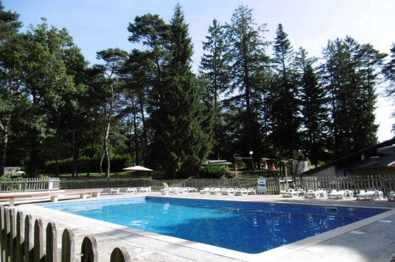 Location de vacances - Camping à Palisse - Espace piscne