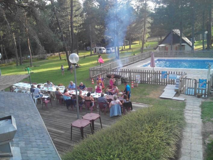 Location de vacances - Camping à Palisse - Terrasse du snack