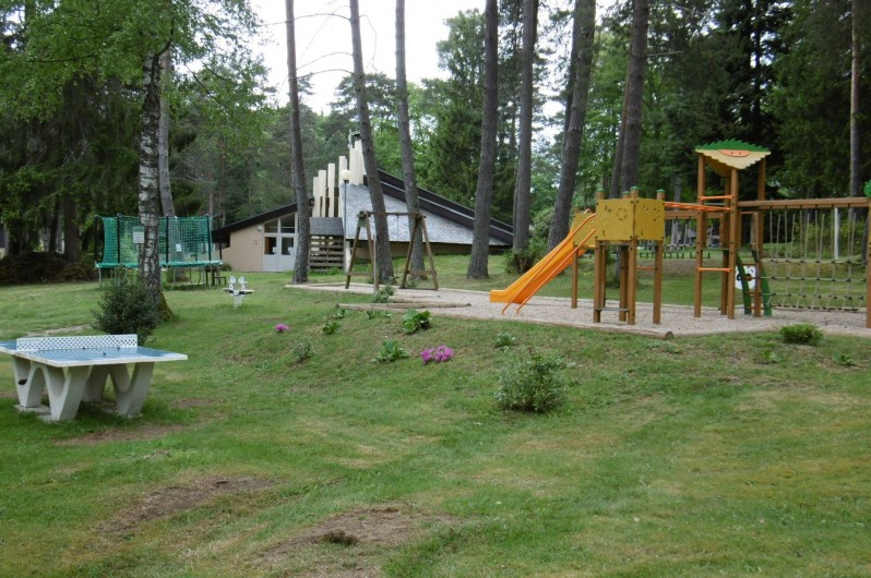 Location de vacances - Camping à Palisse - Espace jeux