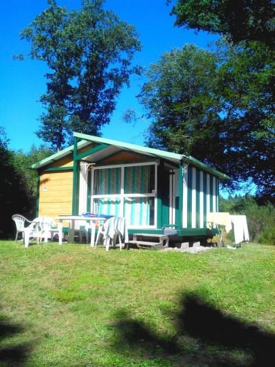 Location de vacances - Camping à Palisse - Chalet Robinson