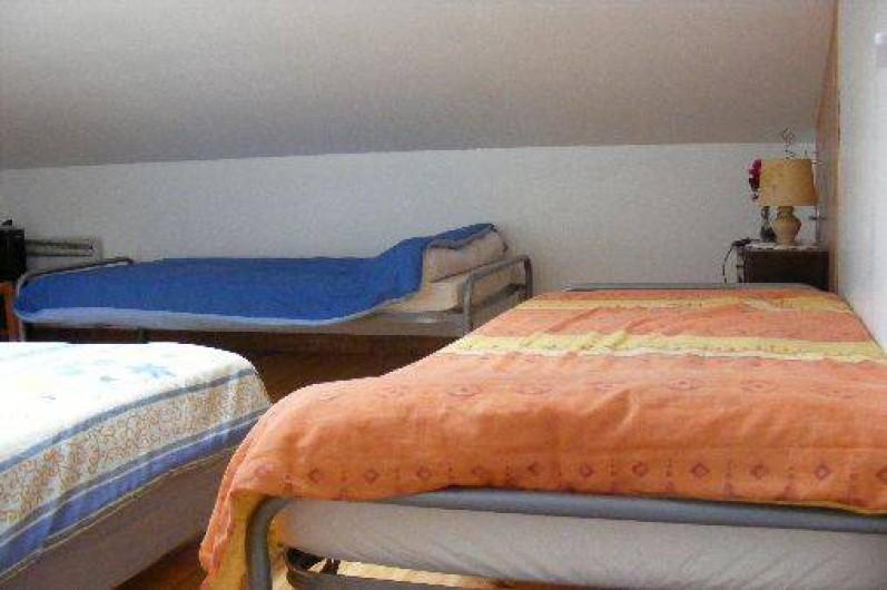 Location de vacances - Appartement à Tarnos - chambre 1 : 2*90 + 1*140