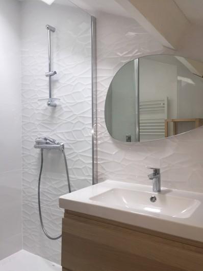 Location de vacances - Appartement à Tarnos - salle de bains, rénovation 2020