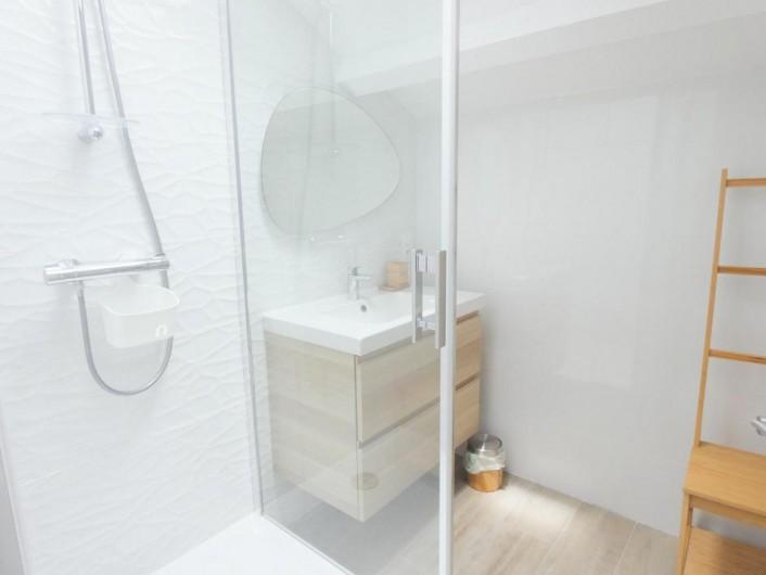 Location de vacances - Appartement à Tarnos - autre vue salle de bains