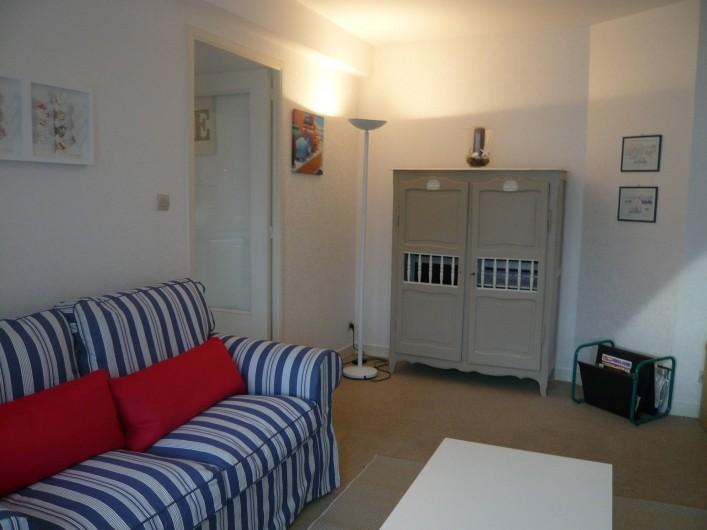 Location de vacances - Appartement à Perros-Guirec - Séjour-Salon