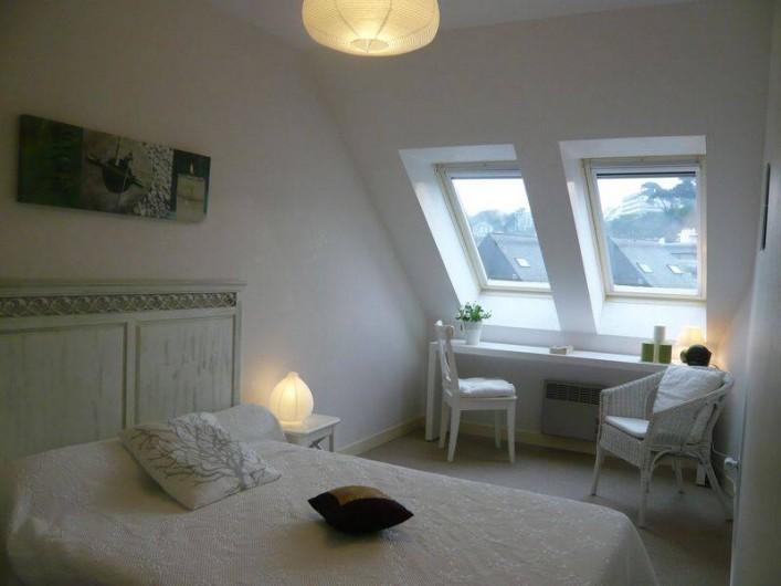 Location de vacances - Appartement à Perros-Guirec - Chambre