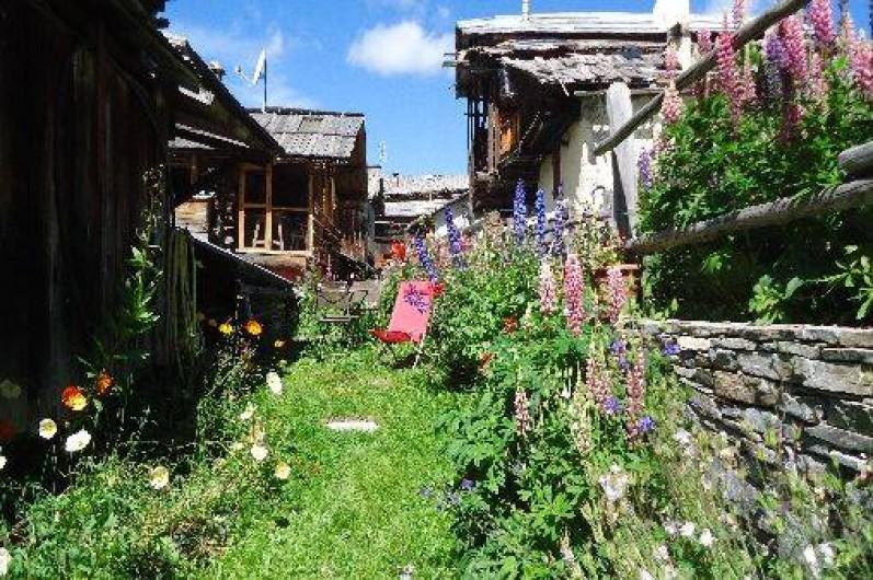 Location de vacances - Appartement à Saint-Véran - Le jardin