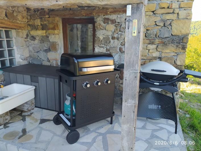 Location de vacances - Gîte à La Rochette - les barbecues