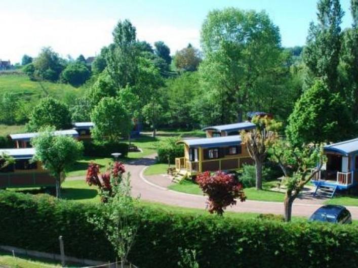 Location de vacances - Roulotte à Châtillon-en-Bazois - Parc de roulottes