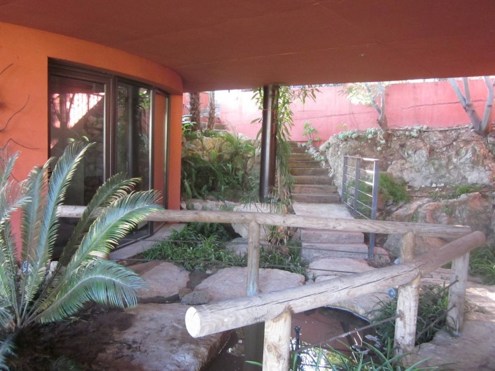 Location de vacances - Studio à Mandelieu-la-Napoule - arrivée