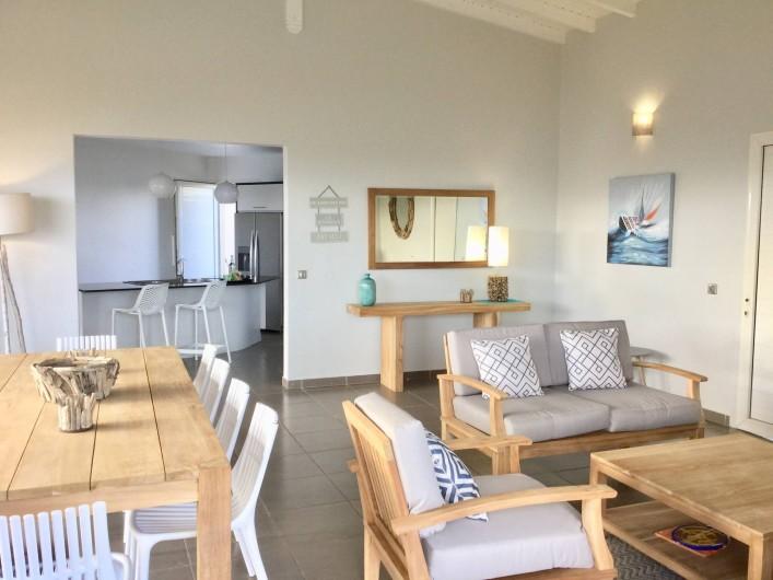 Location de vacances - Villa à Sainte-Anne - séjour