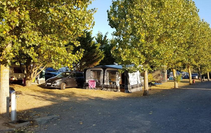 Location de vacances - Camping à Givrand - Emplacements camping