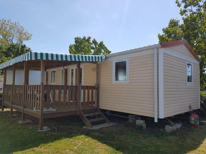 Location de vacances - Camping à Givrand - Mobil-home 3 chambres 4/6 pers