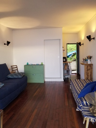 Location de vacances - Studio à Marseille - Pièce principale