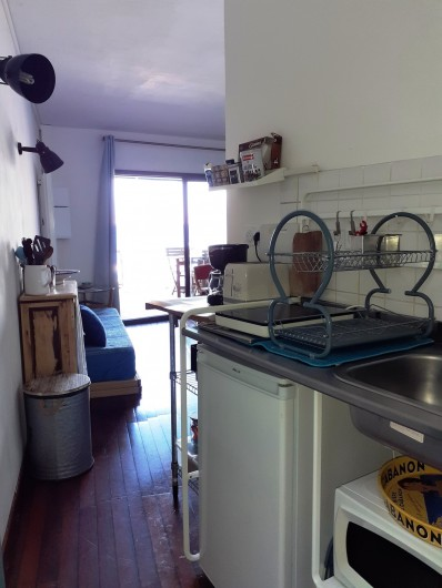 Location de vacances - Studio à Marseille - Coin cuisine