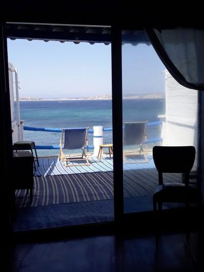 Location de vacances - Studio à Marseille - Le cabanon depuis la terrasse