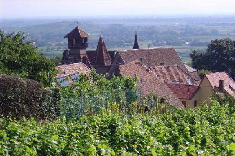 Location de vacances - Gîte à Gueberschwihr - Gueberschwihr village viticole en Alsace près de Colmar