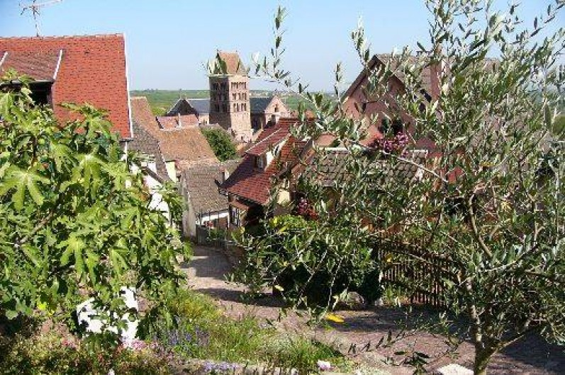 Location de vacances - Gîte à Gueberschwihr - Gueberschwihr, village médiéval en Alsace