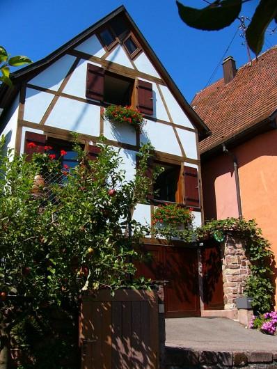 """Location de vacances - Gîte à Gueberschwihr - Gîte en Alsace près de Colmar et Eguisheim  """"Gîte de la Source"""""""