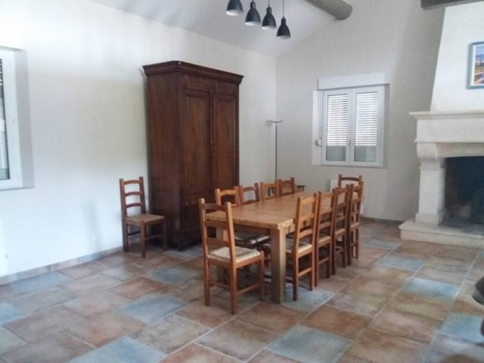 Location de vacances - Villa à Bédoin - SALLE A MANGER