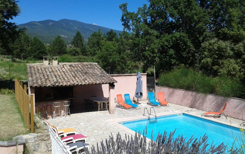 Location de vacances - Villa à Bédoin - PISCINE 10M*5M