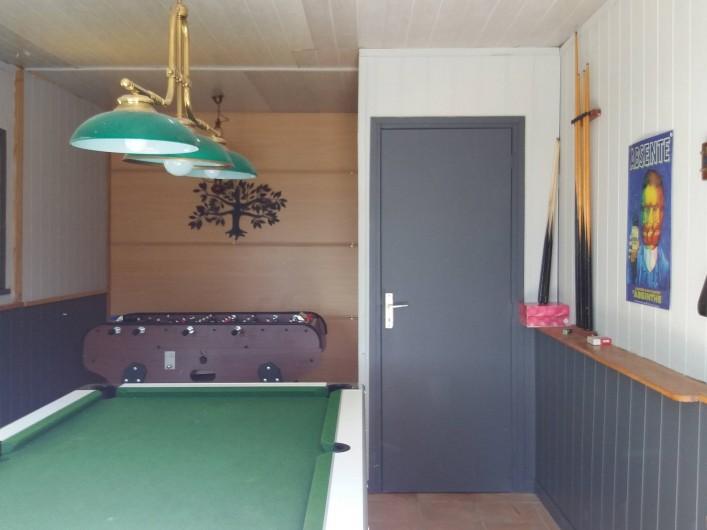 Location de vacances - Villa à Bédoin - SALLE DE BILLARD