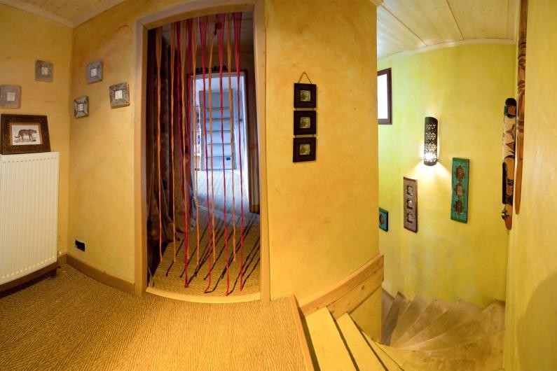 Location de vacances - Chalet à Albiez-Montrond - Hall 1er étage