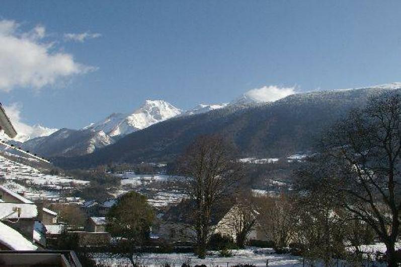 Location de vacances - Gîte à Laruns - Vue hivernale