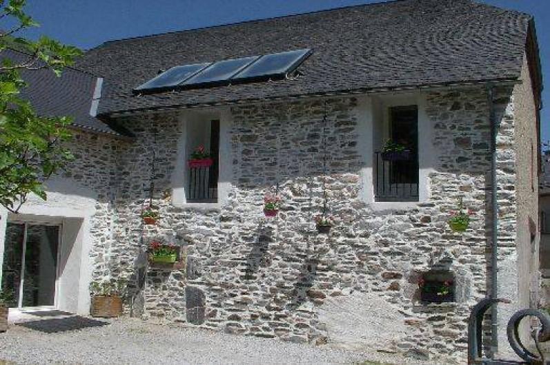 Location de vacances - Gîte à Laruns - Façade gîte