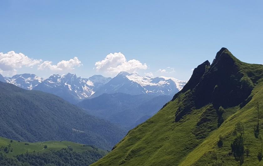 Location de vacances - Gîte à Laruns - Pic de l'Oie Louvie Soubiron