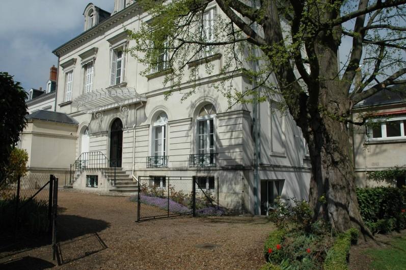 Location de vacances - Appartement à Tours - Façade de la maison