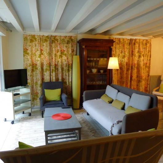 Location de vacances - Appartement à Tours - Salon rez-de-jardin