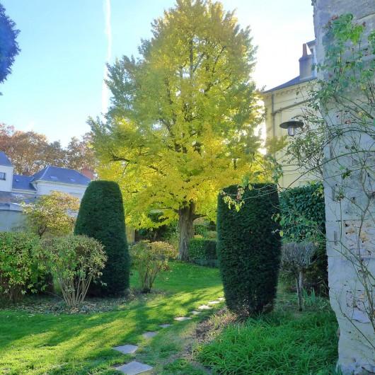 Location de vacances - Appartement à Tours - Vue du jardin