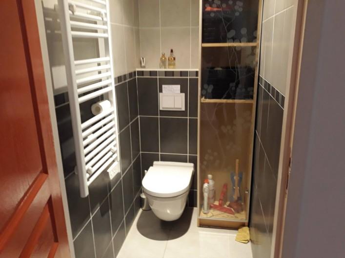 Location de vacances - Appartement à Les Issambres - Toilettes séparées