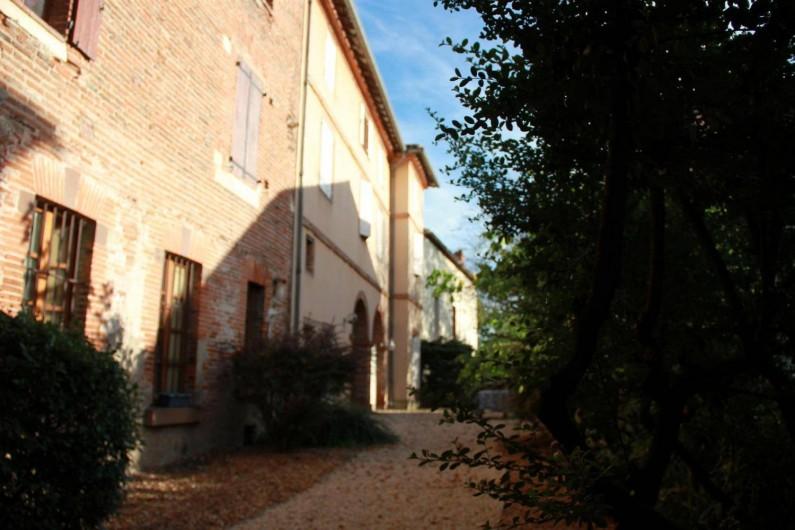 Location de vacances - Gîte à Albi - Cour intérieure