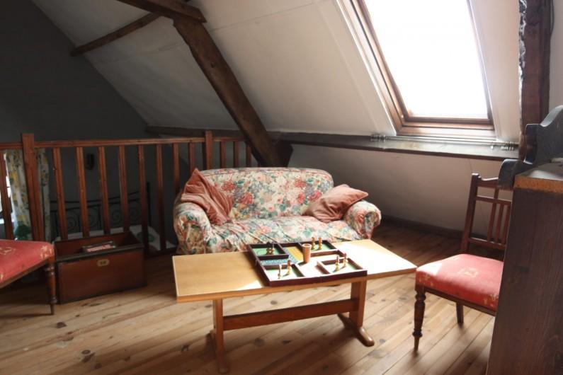Location de vacances - Gîte à Picauville - Petit salon de lecture et jeux de société