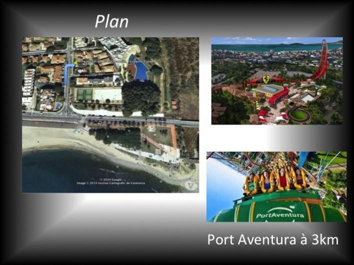 Location de vacances - Villa à Cambrils - port aventura à 3km de la villa