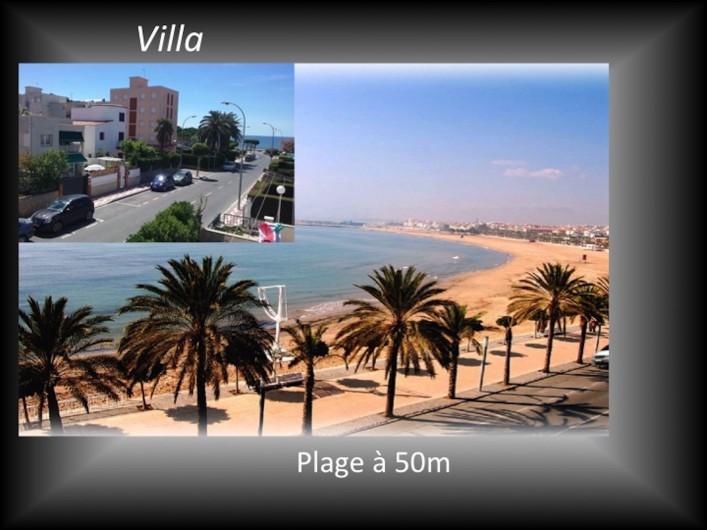 Location de vacances - Villa à Cambrils - plages à 50m