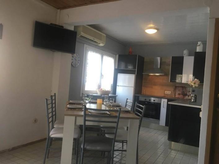 Location de vacances - Villa à Cambrils - salle à manger-cuisine