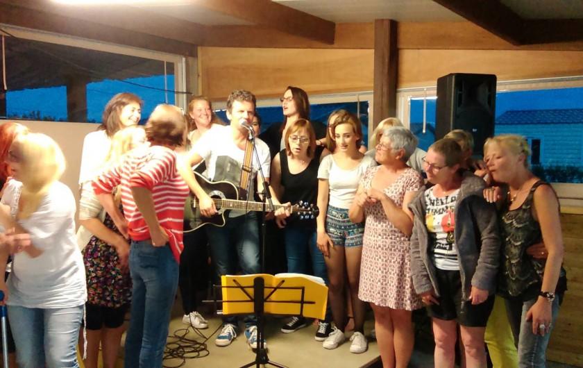 Location de vacances - Bungalow - Mobilhome à Zegerscappel - soirée concert