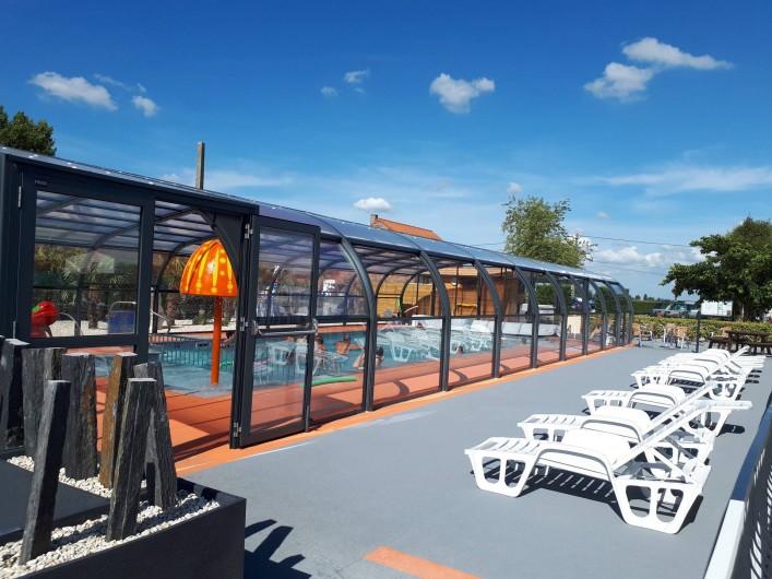 Location de vacances - Bungalow - Mobilhome à Zegerscappel - ouverture entre le 15 et le 30 avril jusqu'au 30/09