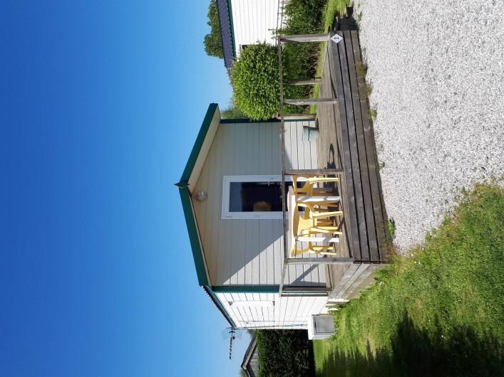Location de vacances - Bungalow - Mobilhome à Zegerscappel - chalet 1 chambre 2/4 pers