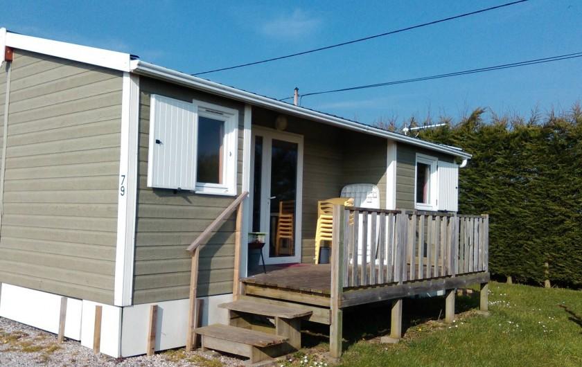 Location de vacances - Bungalow - Mobilhome à Zegerscappel - chalet 3 chambres 6/8 personnes