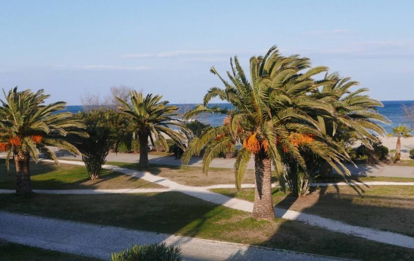 Location de vacances - Chalet à Argelès-sur-Mer - promenade devant villa