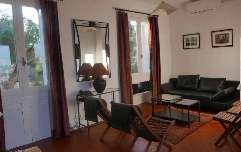 Location de vacances - Chalet à Argelès-sur-Mer - séjour coin salon