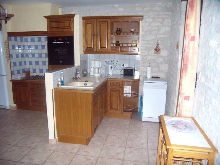 Location de vacances - Gîte à Fontanes - coin cuisine