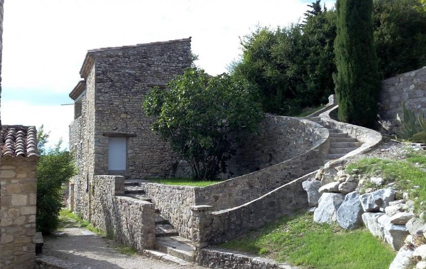 Location de vacances - Mas à Mirabel-et-Blacons - maison