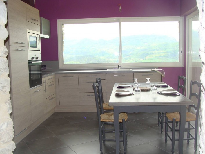 Location de vacances - Mas à Mirabel-et-Blacons - cuisine