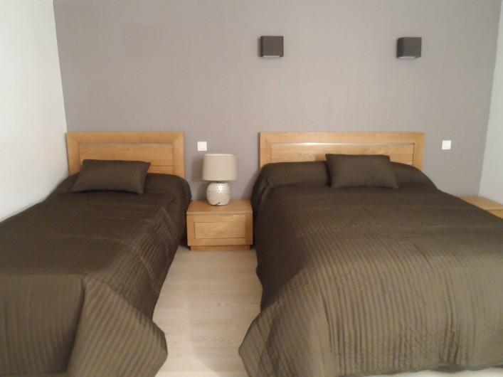 Location de vacances - Gîte à Allassac - Chambre N° 1   (3 pers)